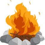 campfire graphic