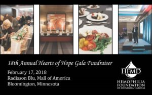 2018 Hearts of Hope Gala @ Radisson Blu Mall of America | Bloomington | Minnesota | United States