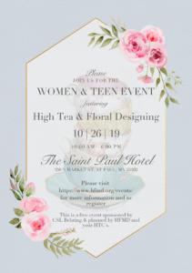 Women & Teen Event @ St. Paul Hotel | Saint Paul | Minnesota | United States