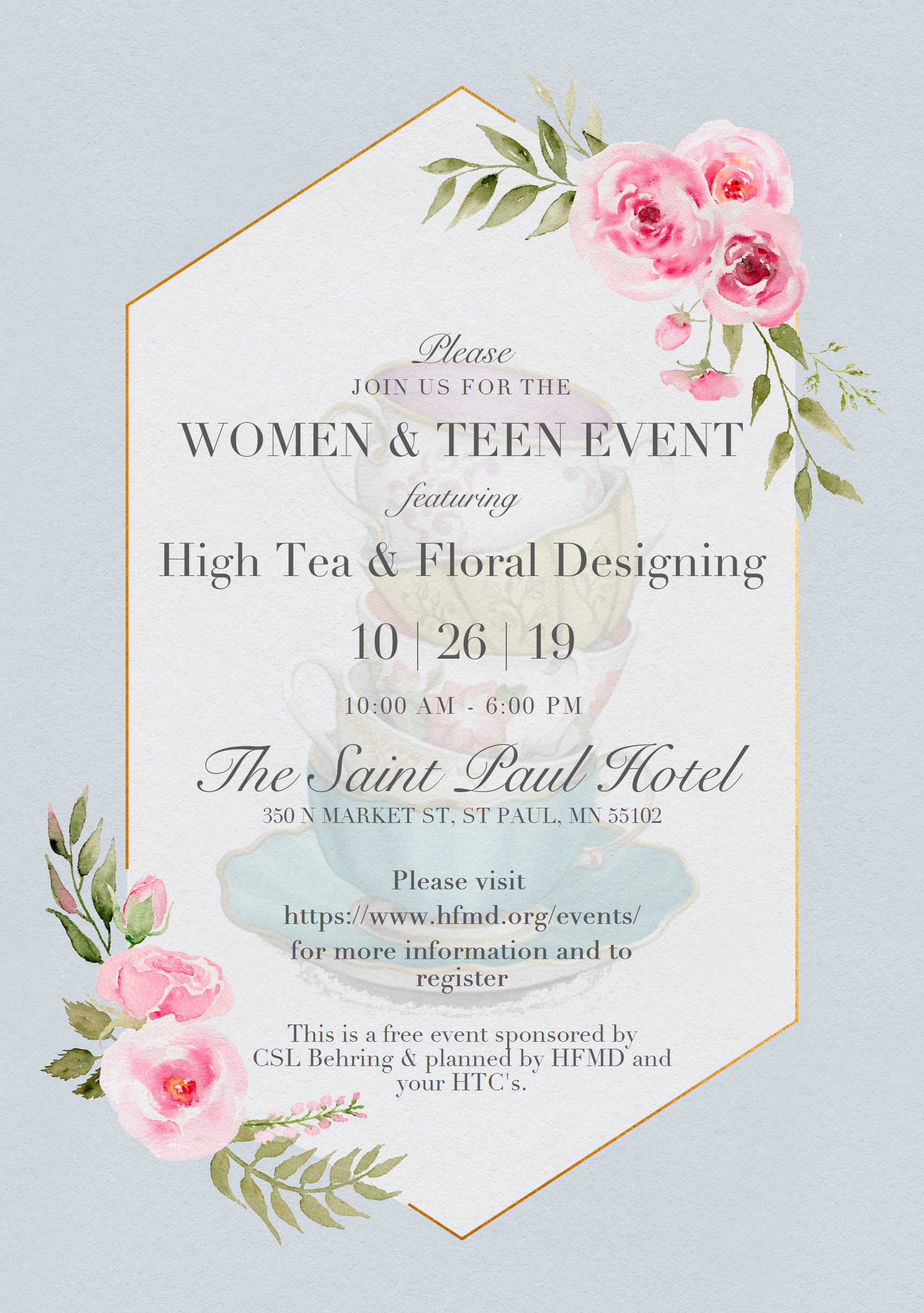 Women & Teen Event