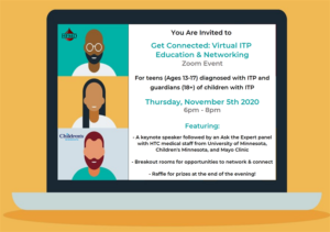 Get Connected: Virtual ITP Education and Networking @ Zoom